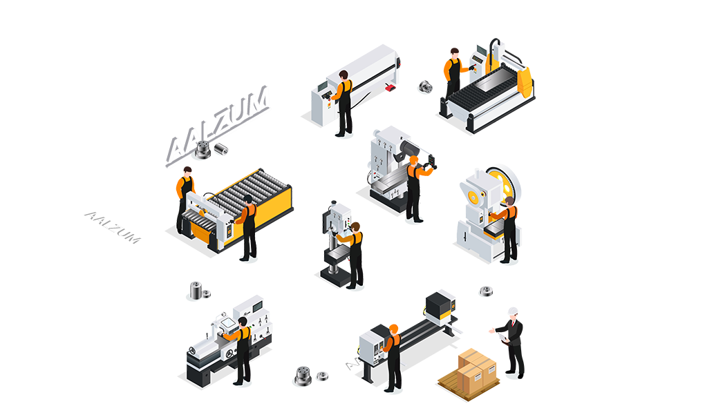 CNC metaalbewerking Aalzum