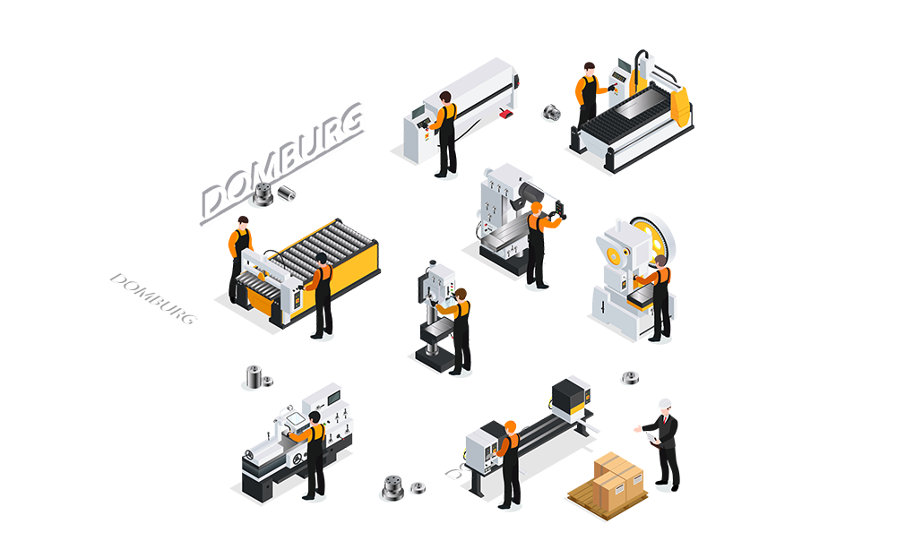 CNC metaalbewerking Domburg