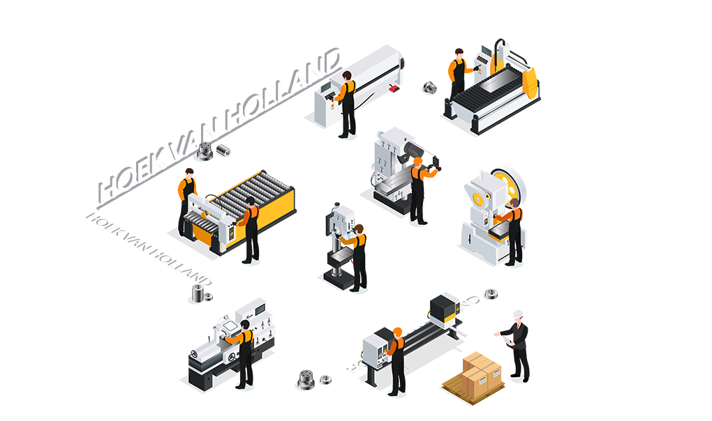 CNC metaalbewerking Hoek Van Holland