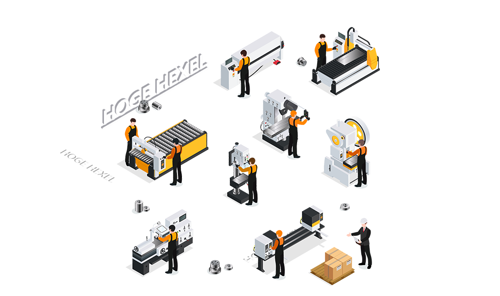 CNC metaalbewerking Hoge Hexel