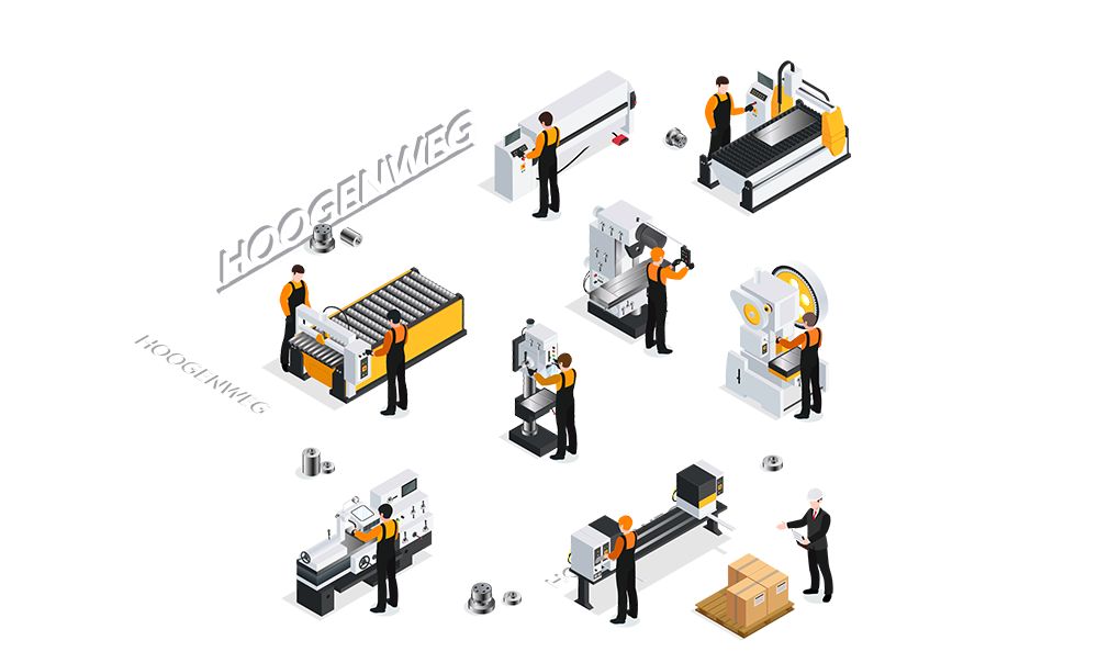 CNC metaalbewerking Hoogenweg