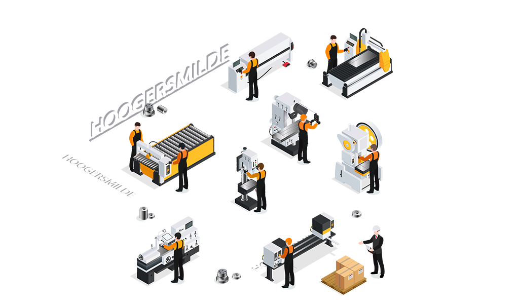 CNC metaalbewerking Hoogersmilde