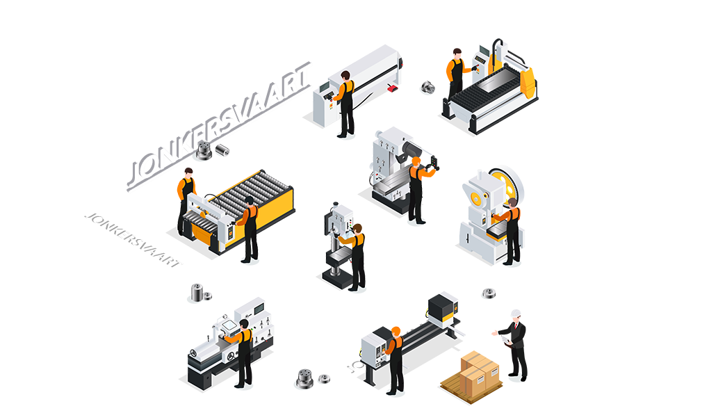 CNC metaalbewerking Jonkersvaart