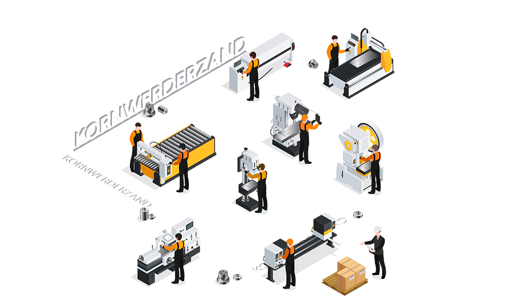 CNC metaalbewerking Kornwerderzand