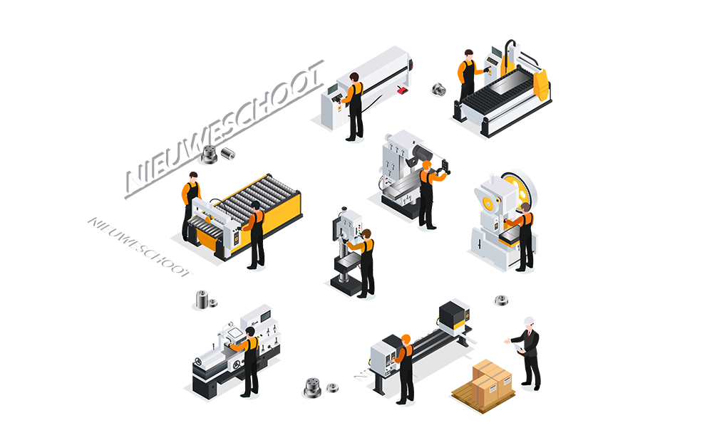 CNC metaalbewerking Nieuweschoot
