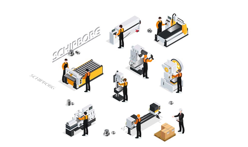 CNC metaalbewerking Schipborg