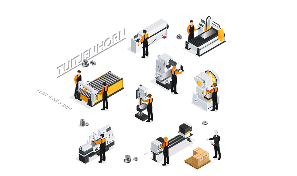 CNC metaalbewerking Tuitjenhorn