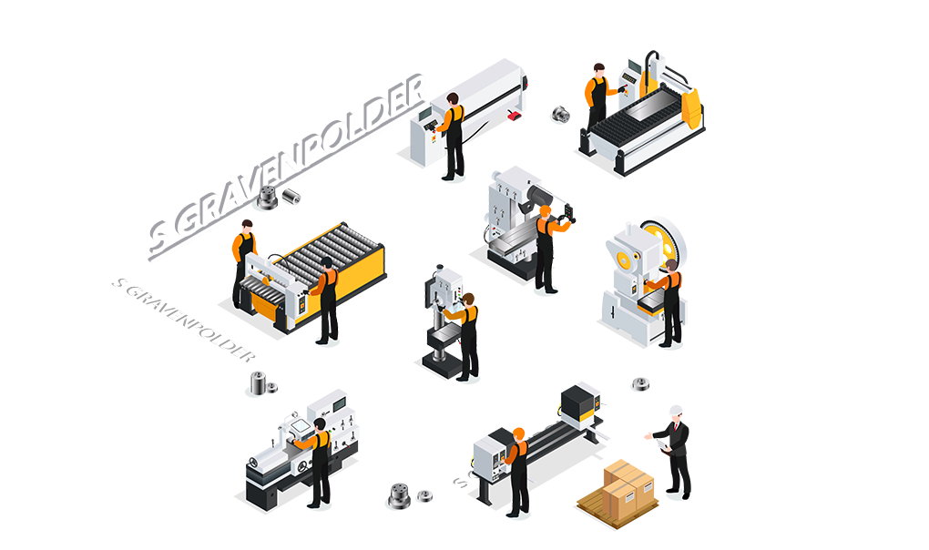 CNC metaalbewerking s Gravenpolder